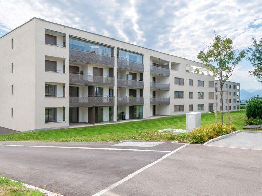 Beispiel von Cerutti: Wohnüberbauung Am Ronbach, Hildisrieden