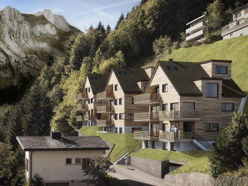 Beispiel von Sustra: Wohnüberbauung Grüsshalde