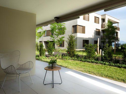 Beispiel von Cerutti: Wohnüberbauung Chriesimatt, Beinwil