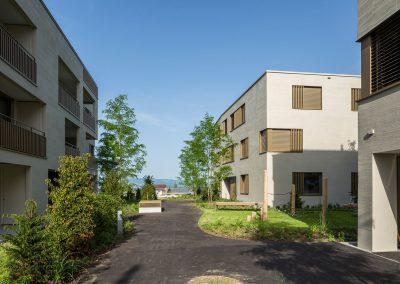 Beispiel von Cerutti Partner: Wohnüberbauung Chriesimatt, Beinwil